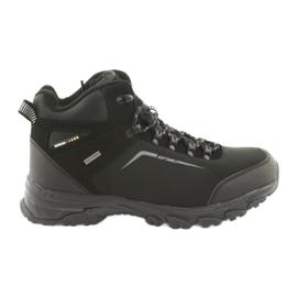 American Club Američke trekking zimske čizme s membranom crna