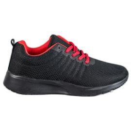 SHELOVET crna Crne sportske cipele