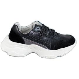 Vinceza Laced Sportske cipele crna