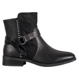 SDS crna Crne ženske čizme