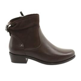 Caprice 25335 smeđe ženske čizme