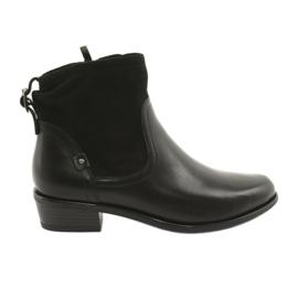Caprice ženske čizme 25335 crne crna
