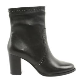 Caprice Visoke čizme s mlazovima crna