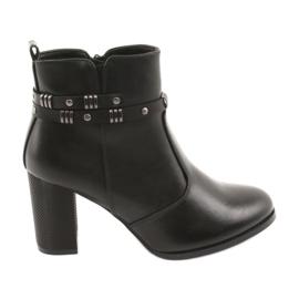 Ženske čizme Sergio Leone 517 crne crna