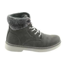 American Club RH47 čipkaste cipele, sive siva