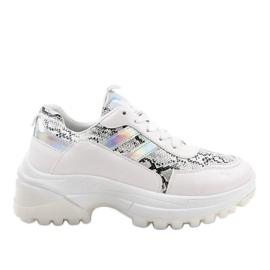 Bijela moderna sportska obuća 690051
