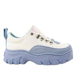Bijela i plava ženska sportska obuća PF5329