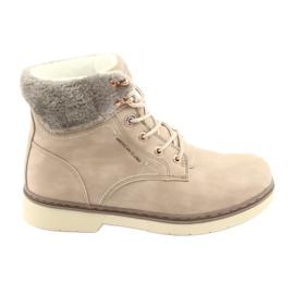 American Club Čipkaste cipele RH47 bež smeđ