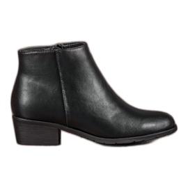 Filippo Klasične crne čizme za gležnjeve crna