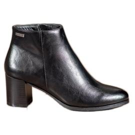 Čizme za gležnjeve VINCEZA crna