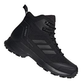 Zimske cipele Adidas Terrex Heron Mid Cw Cp M AC7841 crna