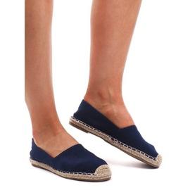 Plave sandale Espadrilles F169-6 plava