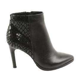 Crne čizme za gležnjače Espinto crna