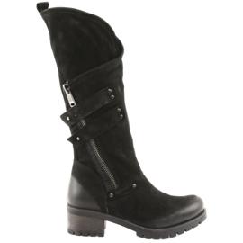 Badura ženske čizme crna