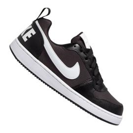 Cipele Nike Court Borough Low Pe (GS) Jr BQ7566-002 crna crna