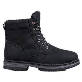 SHELOVET Crne zimske čizme crna