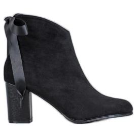 Filippo Moderan crne čizme za gležnjeve crna