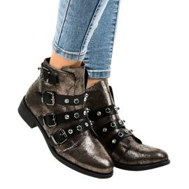 Ravne kopče za ženske čizme Khaki HQ2366