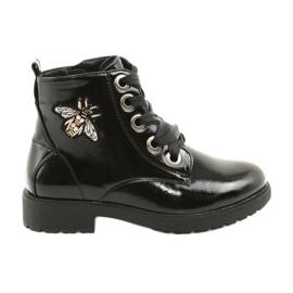 Sergio Leone 530 lakirane čizme crna