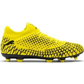 Puma Future 4.4 Fg Ag M 105613 03 nogometne cipele žuti žuti