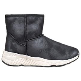 SHELOVET Udobne snježne čizme crna