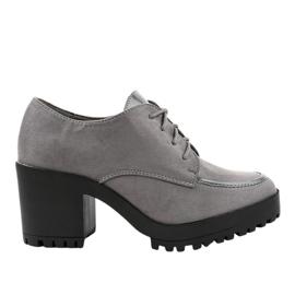 Sive čizme na postolju solidnom HQ651 siva