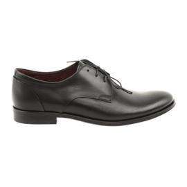 Kožne cipele Pilpol 1609 crna