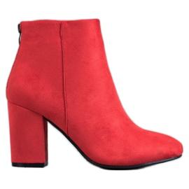 VINCEZA seksi čizme crvena