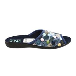 Papuče na papučicama 3D Adanex mornarsko plava
