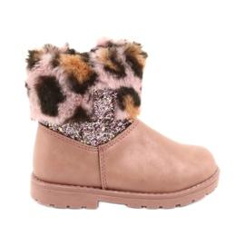 American Club Američke čizme za djevojčice GC45 ružičaste