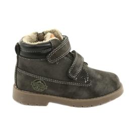 American Club Timberki čizme s Velcro američkim klubom GC43 siva