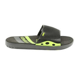 Crne muške papuče za bazen Atletico
