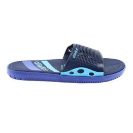 Crne muške papuče za Atletico mornarsko plave boje