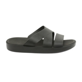 Crne papuče na platformi Atletico 185 crna