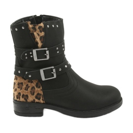 American Club Crni leopard čizme zrakoplova američkog kluba