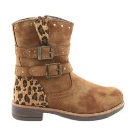 American Club Leopard čizme američke smeđe zrakoplove