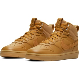Nike Court Borough Mid 2 Boot Jr BQ5440-700 cipele smeđ