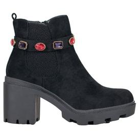 Seastar Čizme na platformi crna