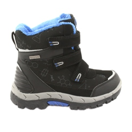 Crne cipele Softshell s membranom American Club HL20