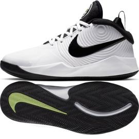Nike team Hustle D 9 (GS) Jr AQ4224-100 cipele bijela bijela