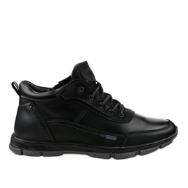 Crna R7163-1 trekking obuća