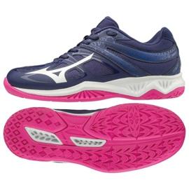 Mizuno Thunder Blade 2 W V1GC197002 cipele purpurna boja ljubičasta