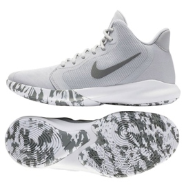 Cipele Nike Precision Iii M AQ7495-004 siva bijela
