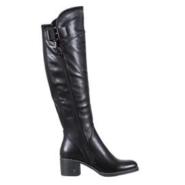 Crne čizme od VINCEZA crna