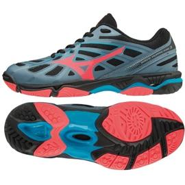 Mizuno Wave uragan 3 W V1GC174065 cipele siva siva / srebrna