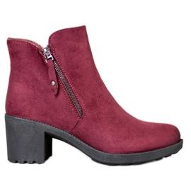 Diamantique Ležerne čizme u baru crvena