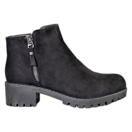 Diamantique Crne čizme sa klizačem crna