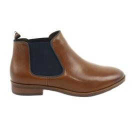 Caprice 25327 smeđe Jodhpur čizme