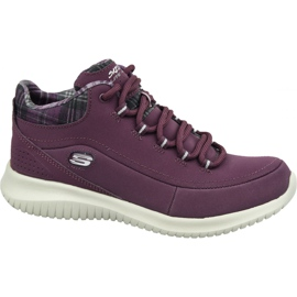 Cipele Skechers Ultra Flex W 12918-BURG purpurna boja