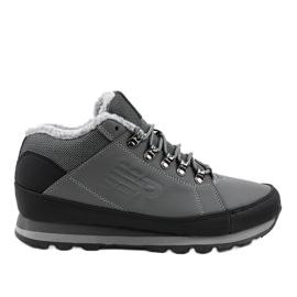 Sivi čizme za snijeg izolirane 9WH917